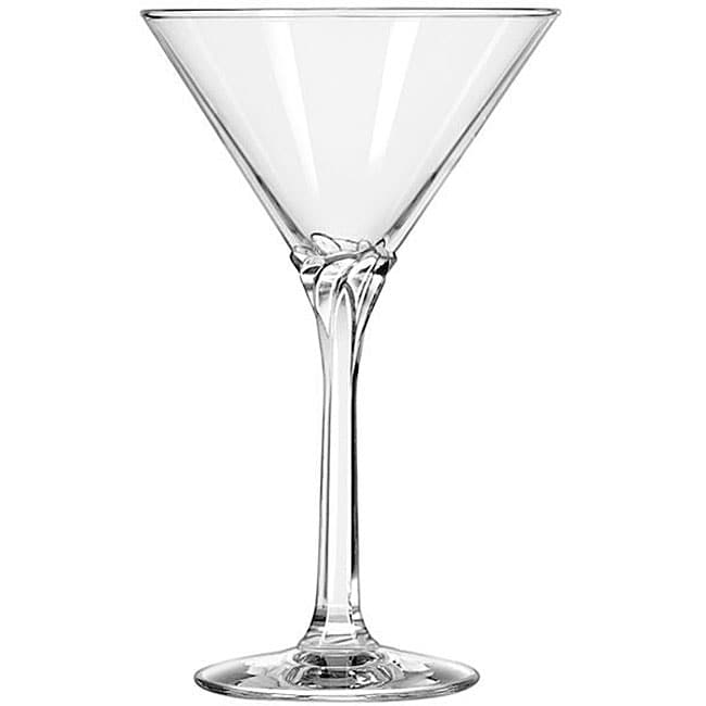 Libbey Domaine 8-oz Martini Glasses (Pack of 12)