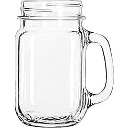 Libbey Plain 16-oz Drinking Jars (Pack of 12)