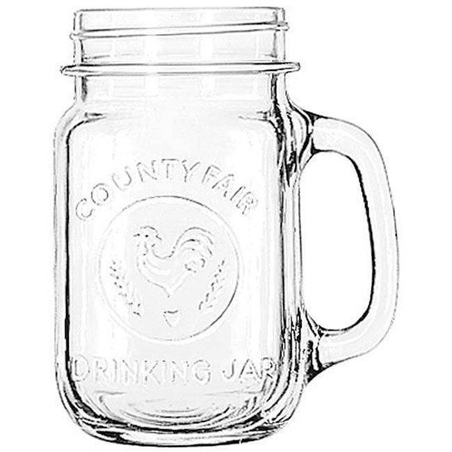 Libbey Country 16-oz Drinking Jars (Pack of 12)