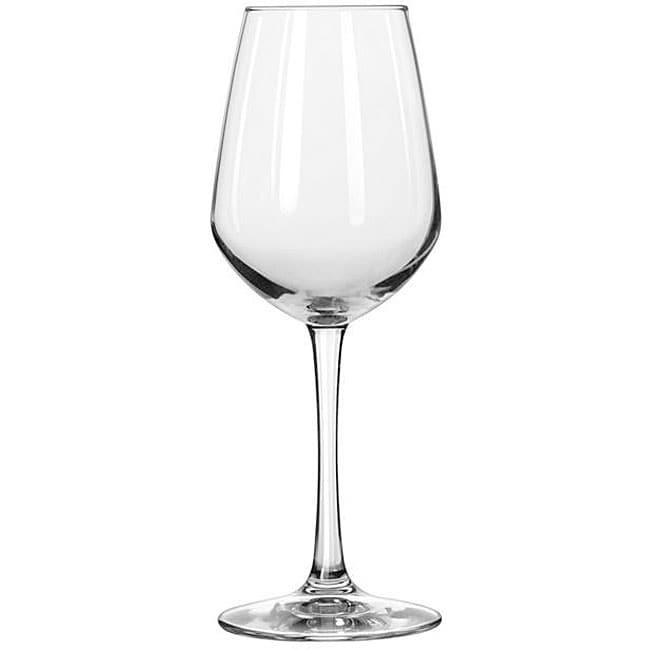 Libbey Vina Diamond 12.5-oz Tall Wine Glasses (Pack of 12)