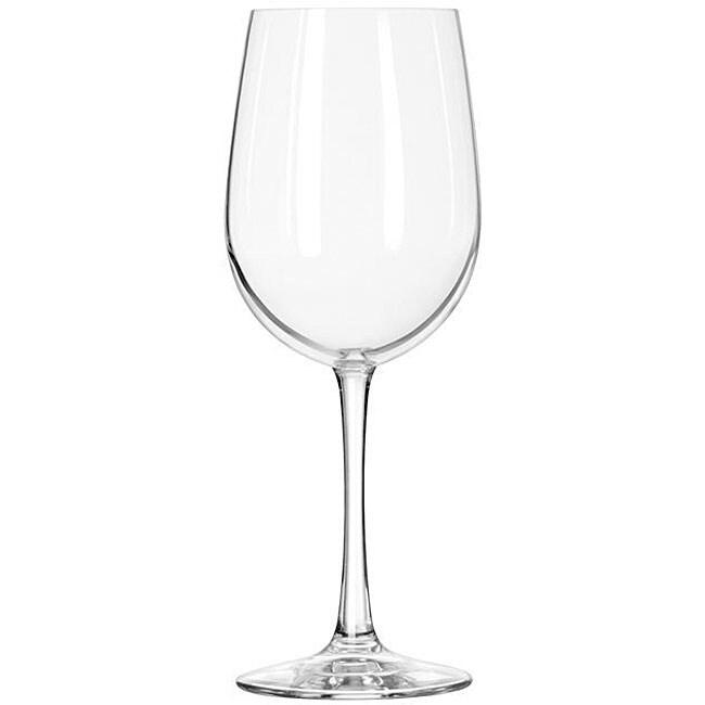 Libbey Vina II 16-oz Sheer Rim Tall Wine Glasses (Pack of 12)