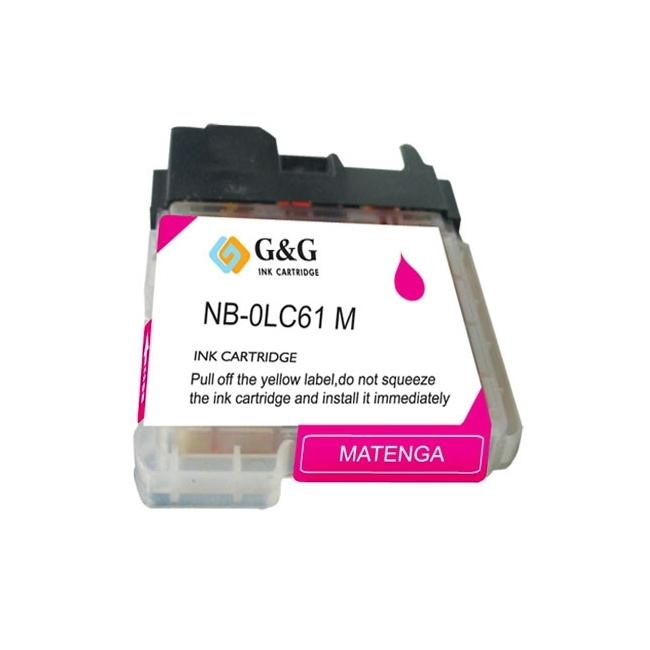 Brother LC61M Compatible Magenta Ink Cartridge