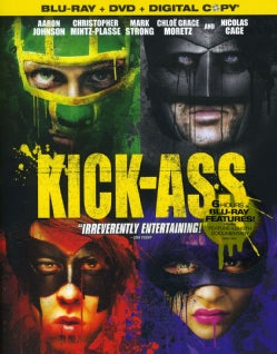 Kick-Ass (Censored Box Art) (Blu-ray/DVD)