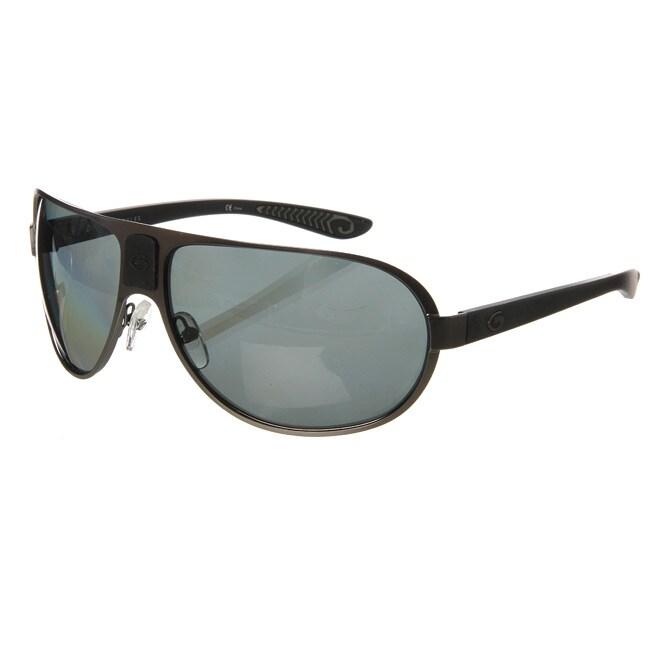 Gargoyles Men's Brown Polarized Pilot Sunglasses