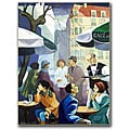 Yelena Lamm 'City Scene' Gallery-wrapped Canvas Art