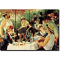 Renoir 'Luncheon of the Boating Party' Canvas Art