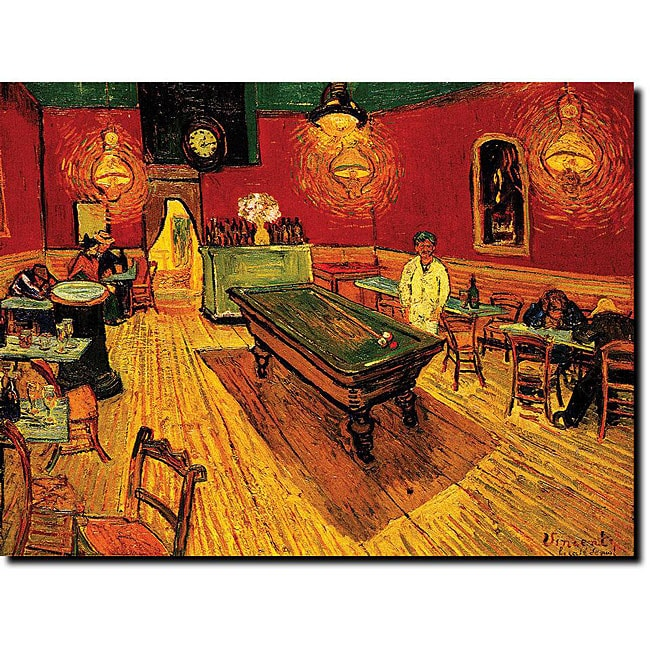 Vincent Van Gogh 'The Night Cafe' Canvas Art