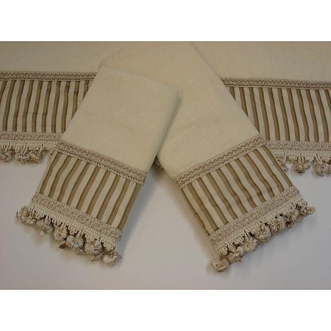 Sherry Kline Morningside Decorative 3-piece Towel Set