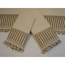 Sherry Kline Morningside Decorative 3-piece Towel Set | Overstock