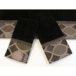 Sherry Kline Barham 3-piece Decorative Towel Set
