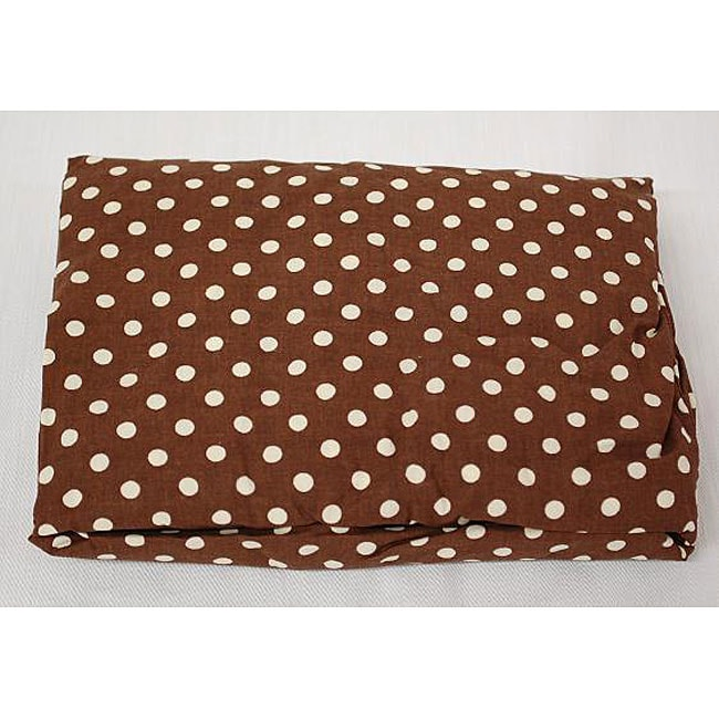Paisley Splash Polka Dot Crib Sheet