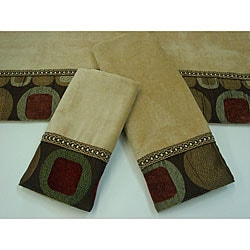 Sherry Kline Metro Spice 3-piece Decorative Towel Set