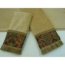 Sherry Kline Tangiers Nugget 3-piece Decorative Towel Set