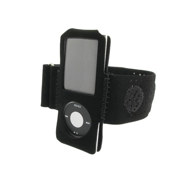 Suede Armband for Apple iPod Nano 4th Gen