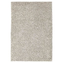 Hand-woven LMIX White Wool Rug (66 x 99)