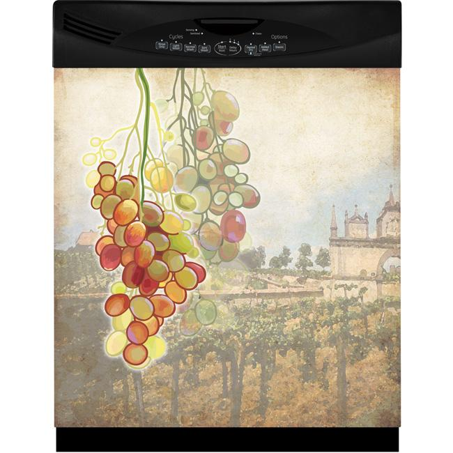 Appliance Art Tuscan Grapes Dishwasher Cover