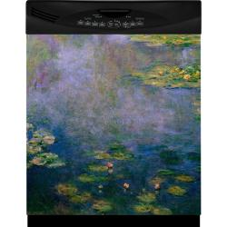 Appliance Art Water Lilies Dishwasher Cover