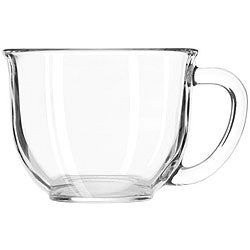 Libbey Clear 16-oz Goumet Mugs (Pack of 6)