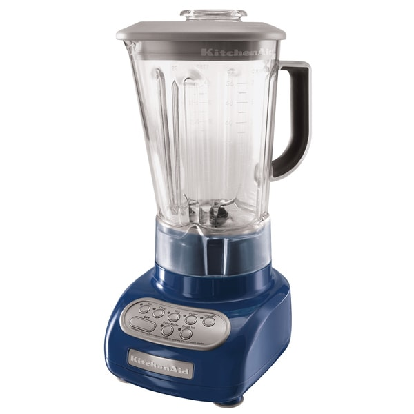 KitchenAid KSB560BW Blue Willow Artisan 5-Speed Blender