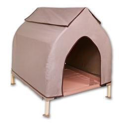 Hugs Pet Products Cool Cot Metal Frame Large Dog House