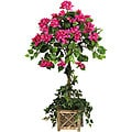 Bougainvillea Topiary Silk Plant (Pack of 6)