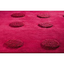 Hand-tufted Malm Red Wool Rug (8'3 x 11'6)