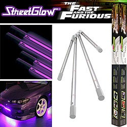 StreetGlow Fast and Furious Undercarriage Neon Light Kit