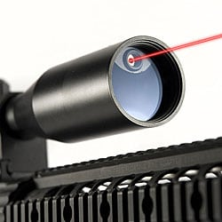 2.5-10x42 Illuminated Reticle Designator Built-in Laser Rifle Scope