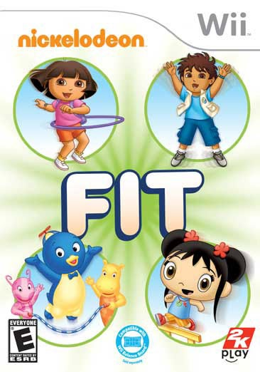 Wii - Nickelodeon Fit