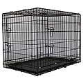 GoPetClub 30-inch 2-door Folding Dog Cage