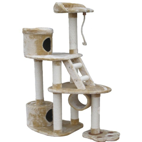 GoPetClub Cat Scratcher and 59-inch Cat Tree