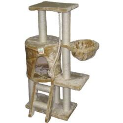 GoPetClub Cat Tree Condo House Scratcher 38-inch Furniture
