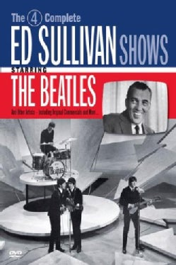 The 4 Complete Ed Sullivan Shows Starring The Beatles (DVD)