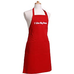 'I like Big Buns' Men's Flirty Red Apron