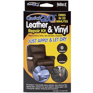 As Seen On TV Re-Stor It Quick 20 Leather And Vinyl Repair Kit