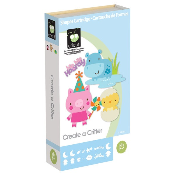 Cricut Create-a-Critter Shape Cartridge Kit