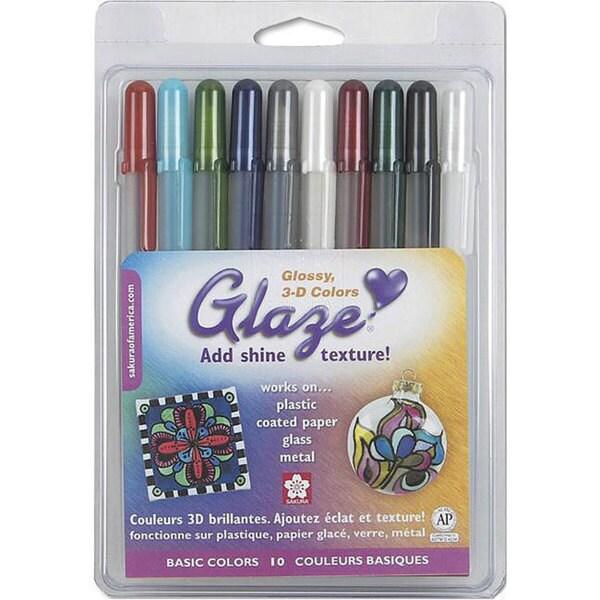 Glaze Basics Pens (Pack of 10)
