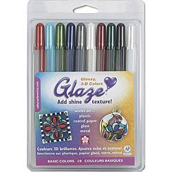 Glaze Basics Pens (Pack of 10)