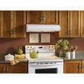 Broan Evolution 3 Series 30-inch White Under-cabinet Range Hood