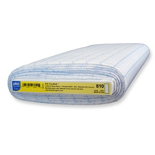 Pellon #810 Tru-Grid One-inch Sheer White Polyester Craft Graph
