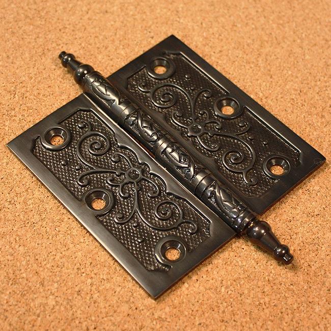 Lafayette Collection Dark Bronze 4-inch Door Hinges (Pack of 3)