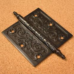 Lafayette Collection Dark Bronze 3.5-inch Door Hinges (Pack of 3)