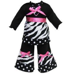 Ann Loren American Girl Doll Zebra Stripe Outfit