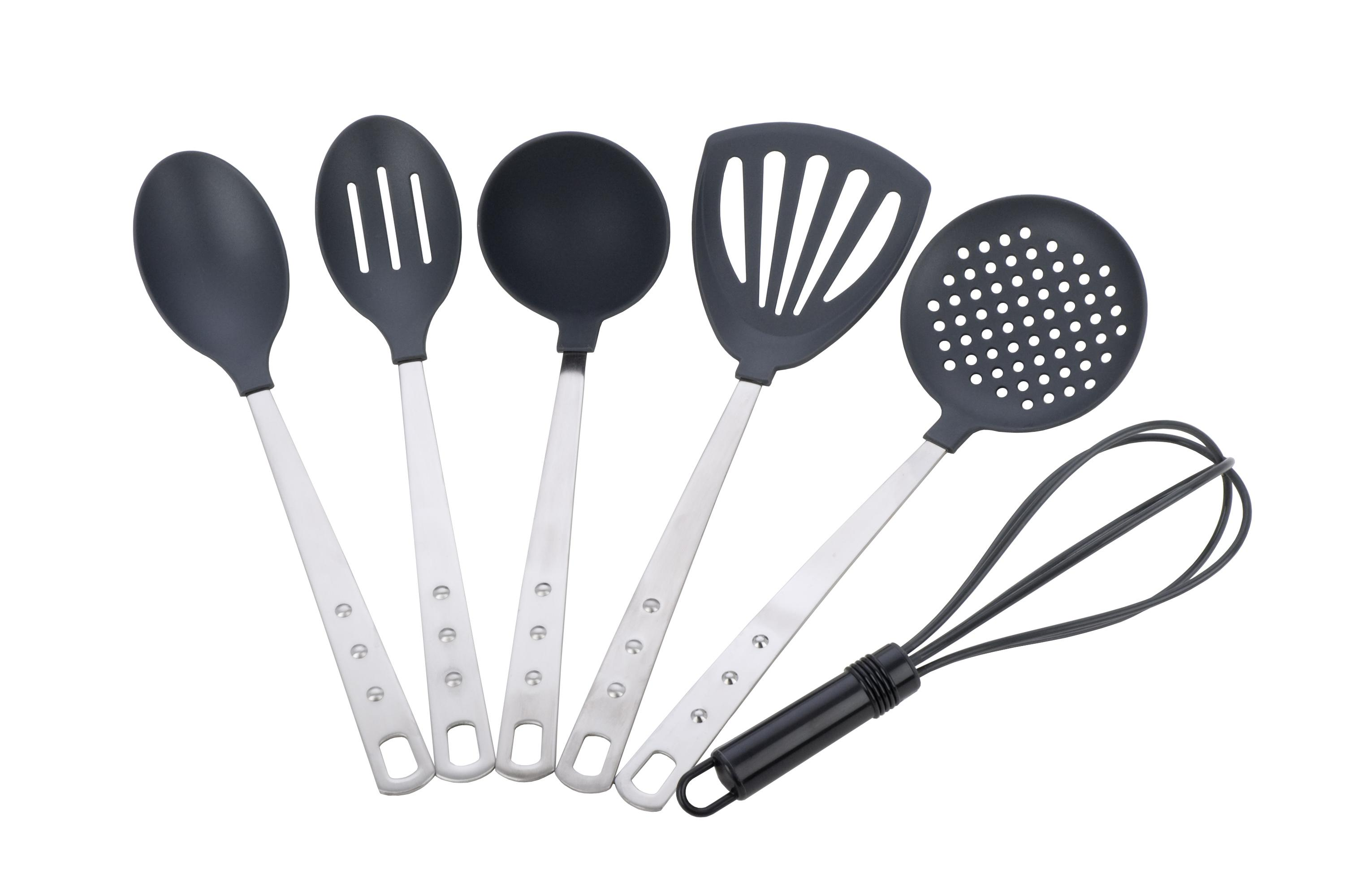 Miu France 6piece Stainless Steel Handle Kitchen Tool Set  Overstock