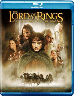 Lord of the Rings: The Fellowship of the Ring (Blu-ray Disc)
