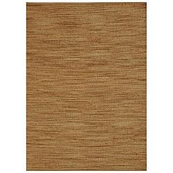 Hand-woven Abrush Natural Jute Rug (6' x 9')