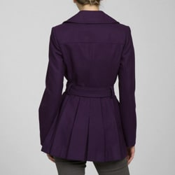 Via Spiga Women's Wool Double-breasted Coat