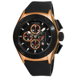 Cvstos Men's CVCRRNRGGR 'Challenge-R 50' Rose Gold Chronograph Watch