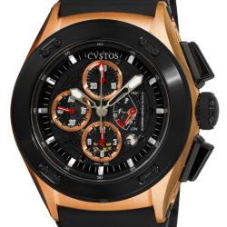 Cvstos Men's 'Challenge-R 50' Rose Gold Chronograph Watch
