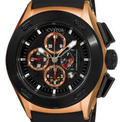 Cvstos Men's CVCRRNRGGR 'Challenge-R 50' Rose Gold Chronograph Watch